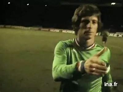Finale de Coupe d'Europe 1976 Saint Etienne-Bayern de Munich