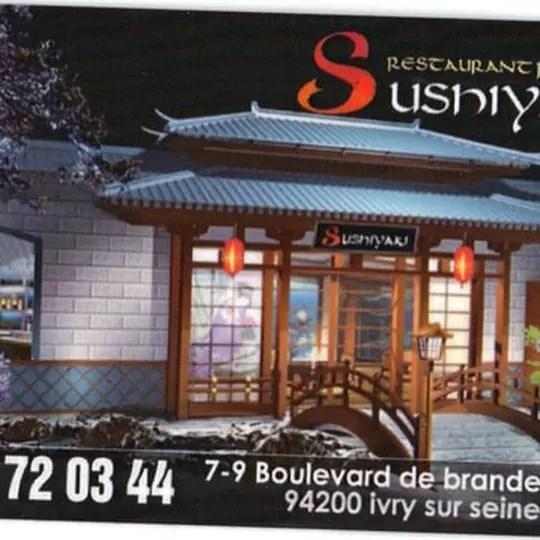 sushiyaki restaurant japonais a ivry