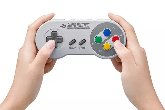 Nintendo Switch: SNES controller is available