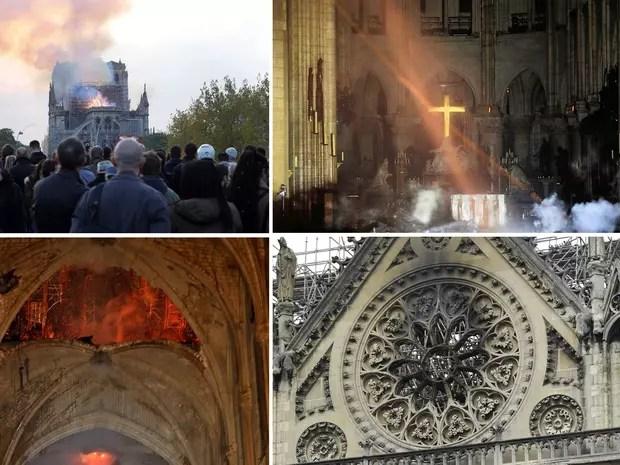 Les images de Notre-Dame dévastée après les flammes