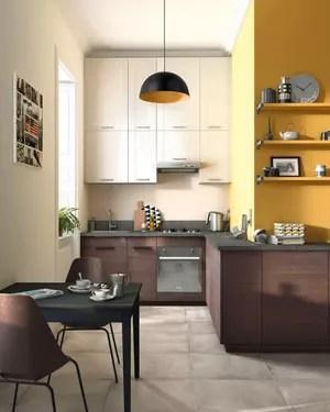 petite cuisine ouverte fonctionnelle