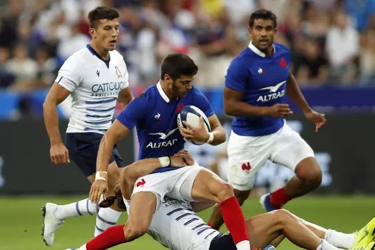 Rugby World Cup: a victory of the Blues River, the summary of France - Italy