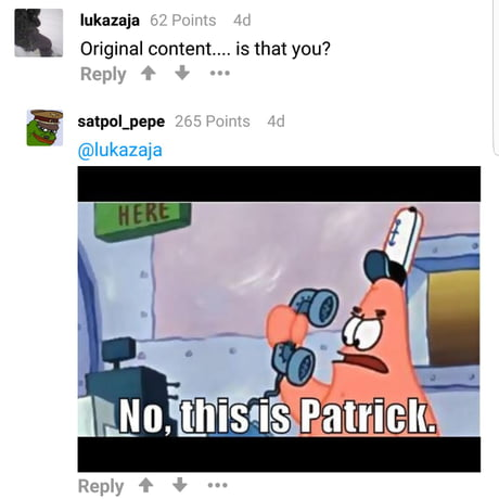 When comments turn into memes