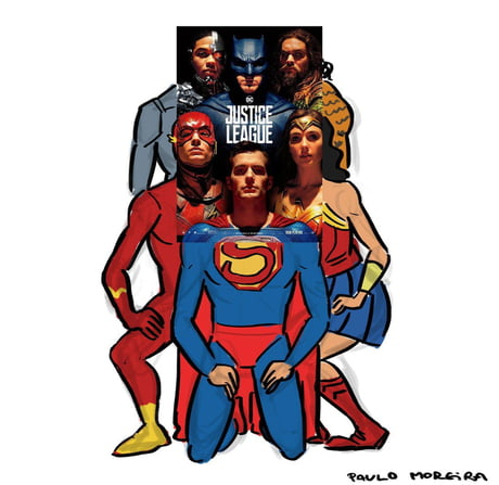 justice league poster 9gag