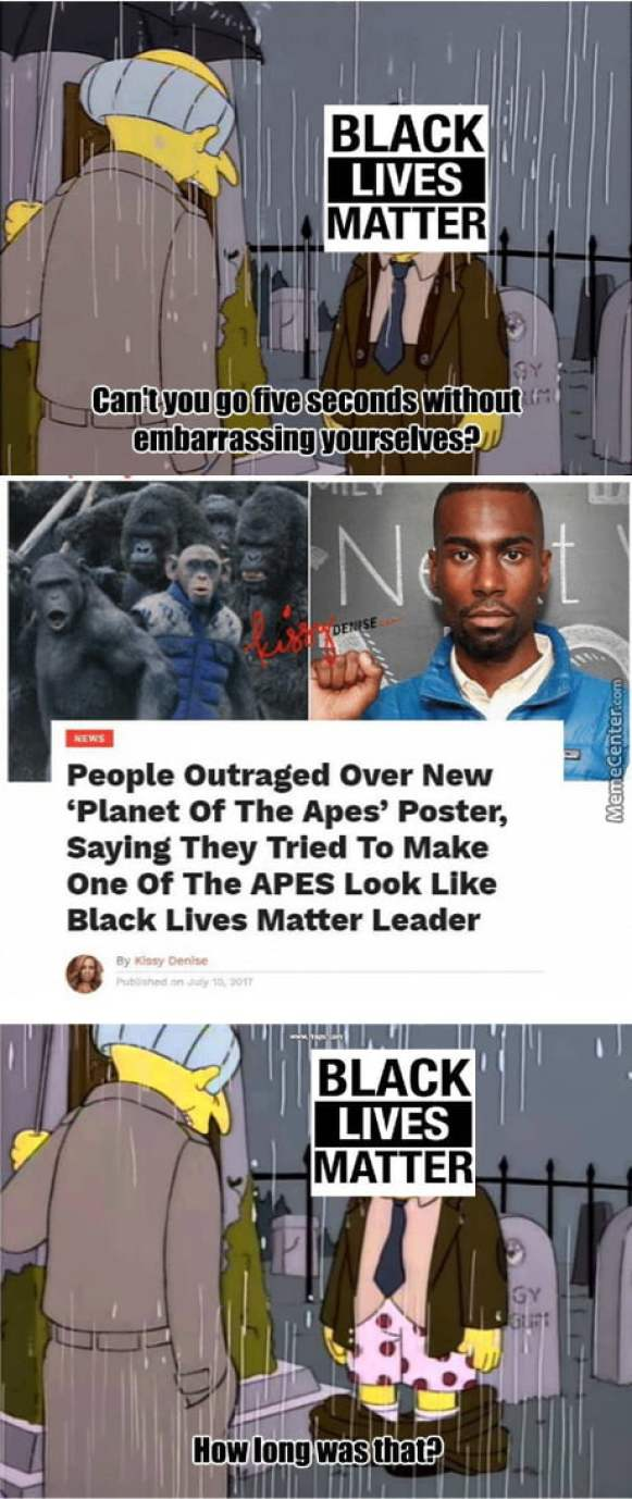 Blm is a stupid organization led by incompetent people