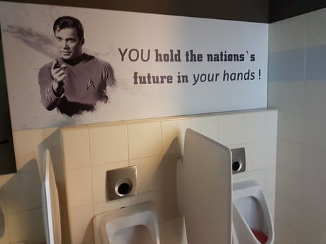 At men's wc above the urinals in coffe shop in my hometown. Haha. Advertisment like a boss ! ! !