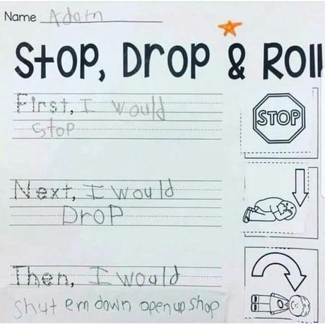 Adam knows