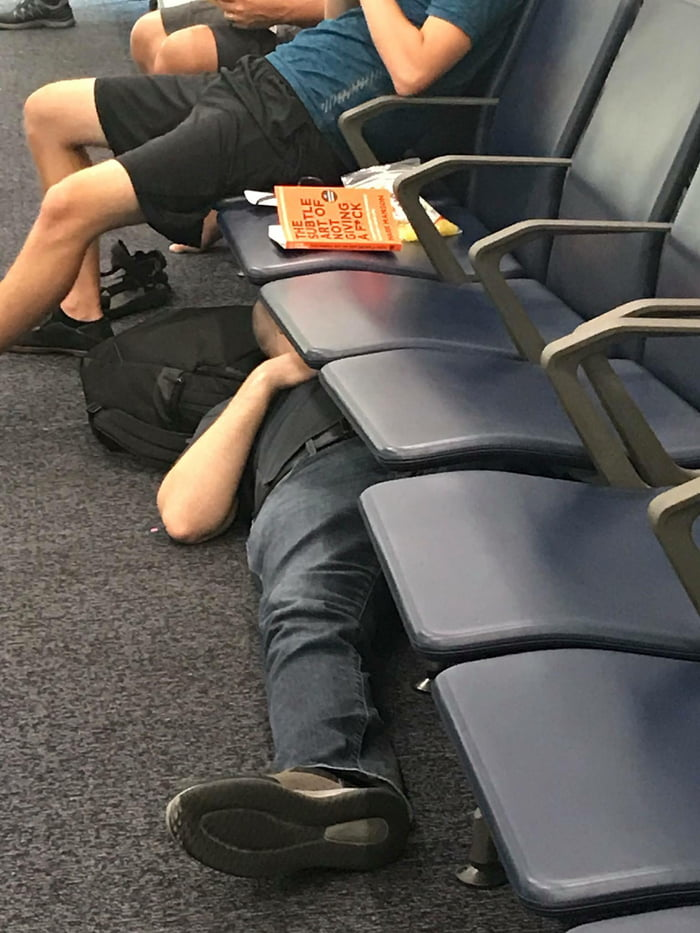 This dude started reading his book and got inspired