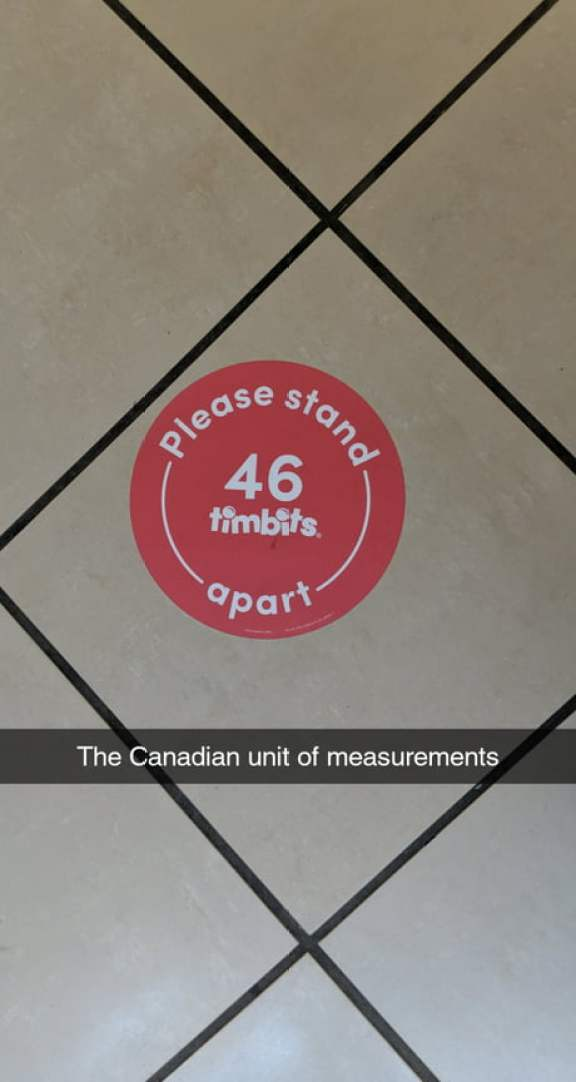 The true Canadian unit of measurements