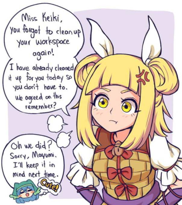 Mildly annoyed Haniwa (artist:Miwool)