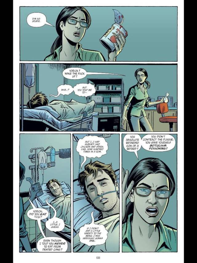This is my favorite page thus far! (Y: The Last Man #29)