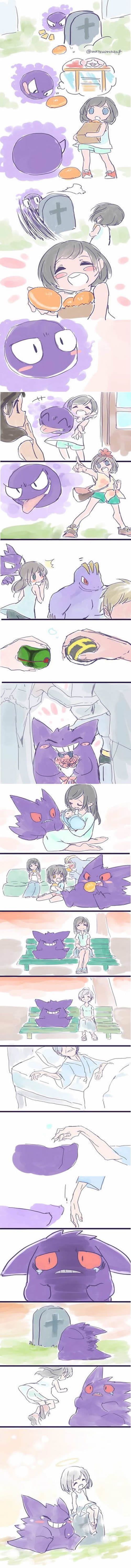This Story About Gengar By The Grave Will Give You All The Feels (By matsuorca524)