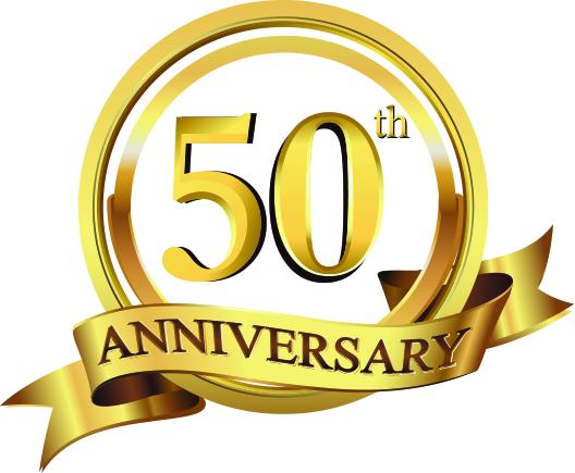 50th Logo wo background