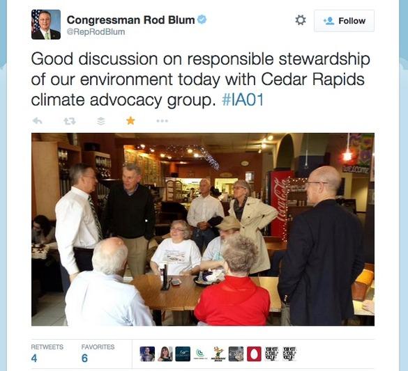 Iowa Blum Marshall tweet 2