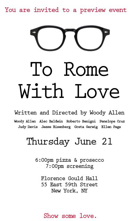 Spring 2012: Movie Event