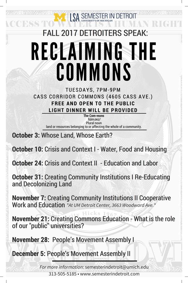 Detroiters Speak flyer