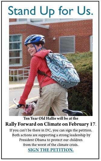 HALLIE rally forward