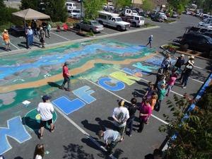 WCCA           Chalk Art GV Charter H JBK (1) 2