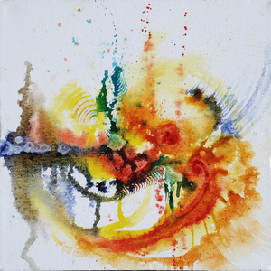 Linda dixon vibrant painting