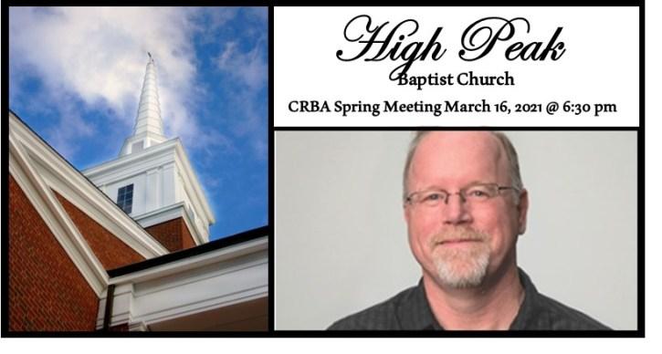 CRBA Spring 2021 Meeting High Peak Ad