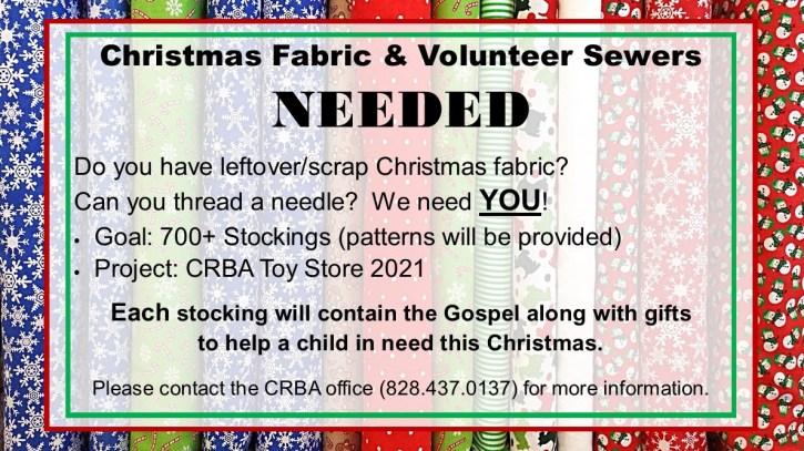 Toy Store Stocking Volunteer Request 2021 3
