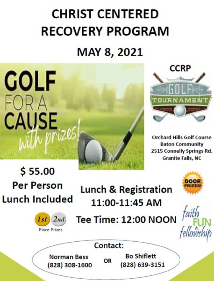 CCRP Golf Tournament 2021 2
