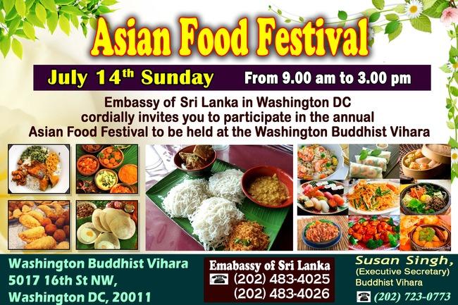 Asian Food festival 2013