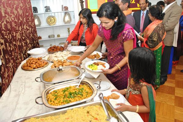 Sri Lankan Vegetarian Dinner