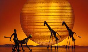 TLK - Circle of Life (Giraffes and Cheetah) (5) 2