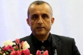 Amrulla Saleh comments on Taliban and Pakistan