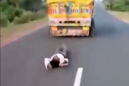 Man 45 Tied To Truck And Dragged Dies in Madhya Pradesh