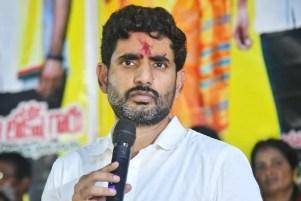 Nara Lokesh met Polavaram expatriates