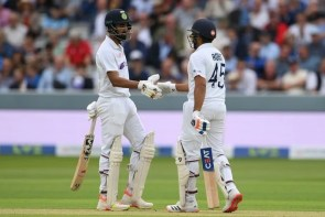 India second innings in fourth test