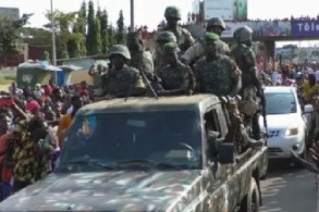 Army coup in Guinea