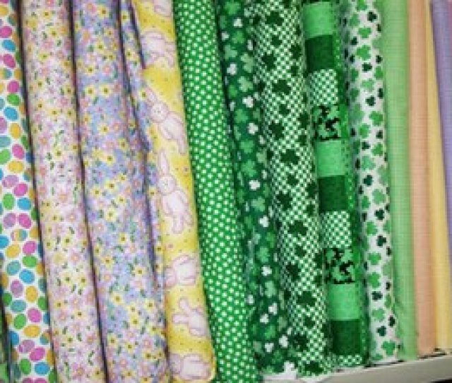 Offer Fabric Bolts And Individual Fat Quarters For Purchase