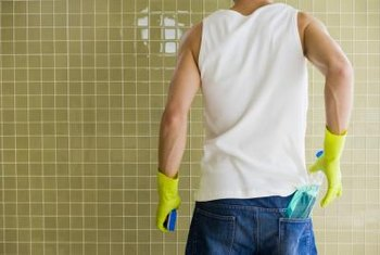 how to clean bathroom mold and mildew with white vinegar   home