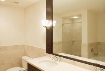 Height of Bathroom Sconces   Home Guides   SF Gate on Height Of Bathroom Sconce Lights id=40337