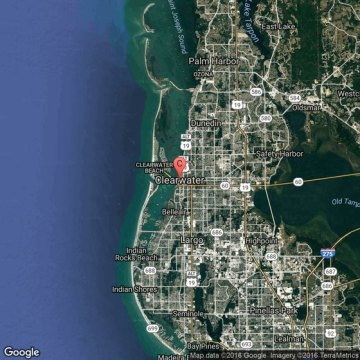Clearwater Florida Map Images Path Decorations Pictures Full