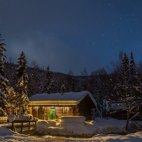 Log Cabins Near Portland, Oregon   USA Today