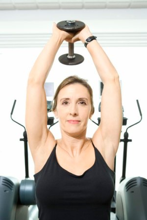 Replacement Exercises for Triceps Pushdown  Woman