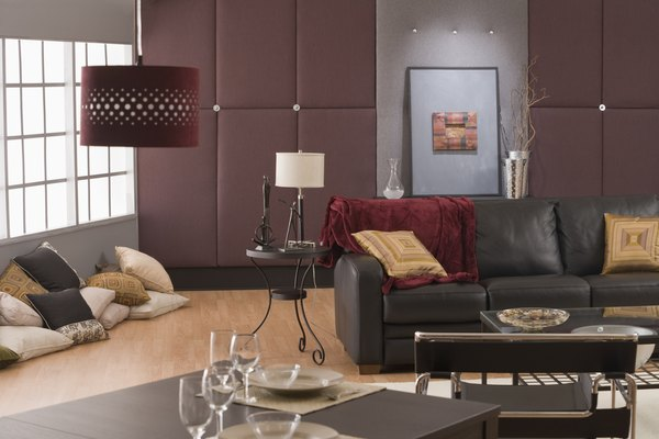 Burgundy Accent Chairs Living Room