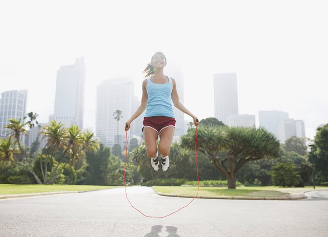 Jump rope twice a day.