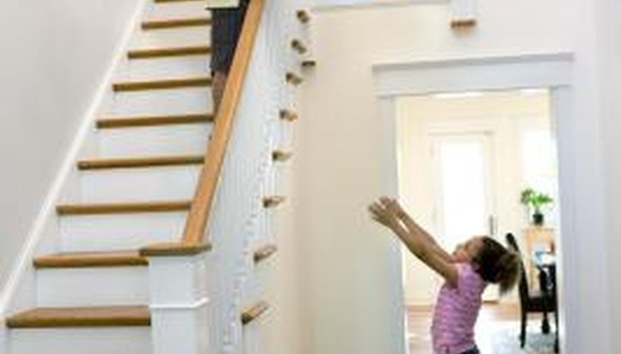 How To Drill For Stair Railing Spindles | Stair Posts And Spindles | Stairway | Newel Post | Inexpensive | Rectangular | Railing