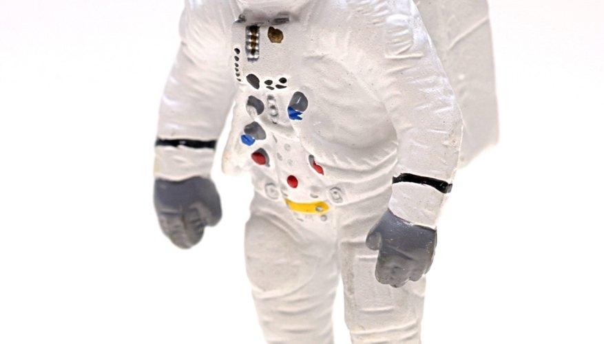 Astronauts use trigonometry to calculate distances.