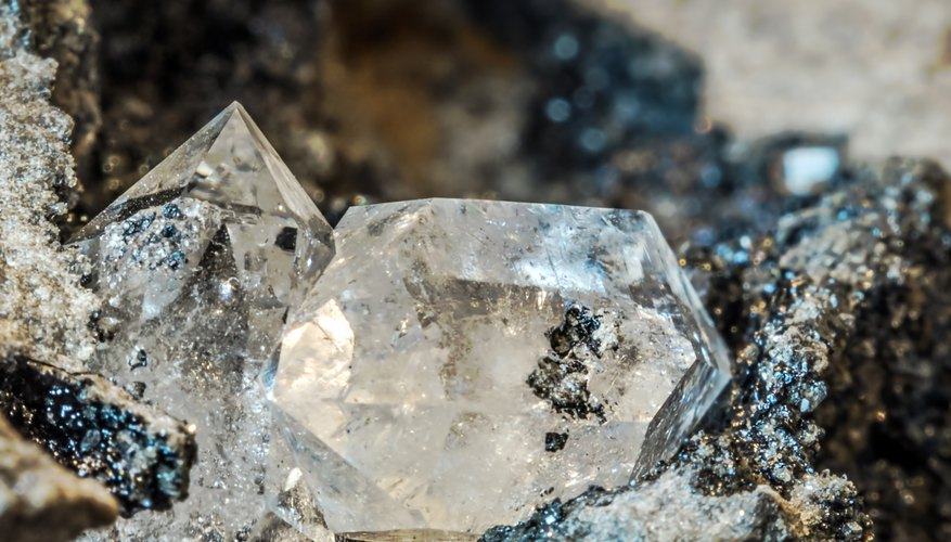 How To Identify An Uncut Rough Diamond Sciencing