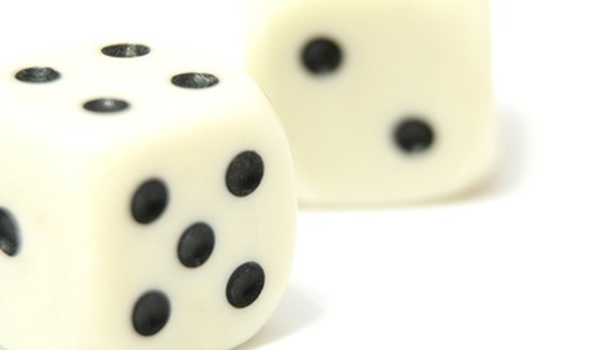 5 Dice Game Rules   Our Pastimes People played with dice before numbers were written