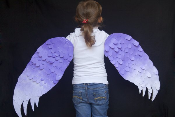How to Make Wings for a Bird Costume (with Pictures) | eHow