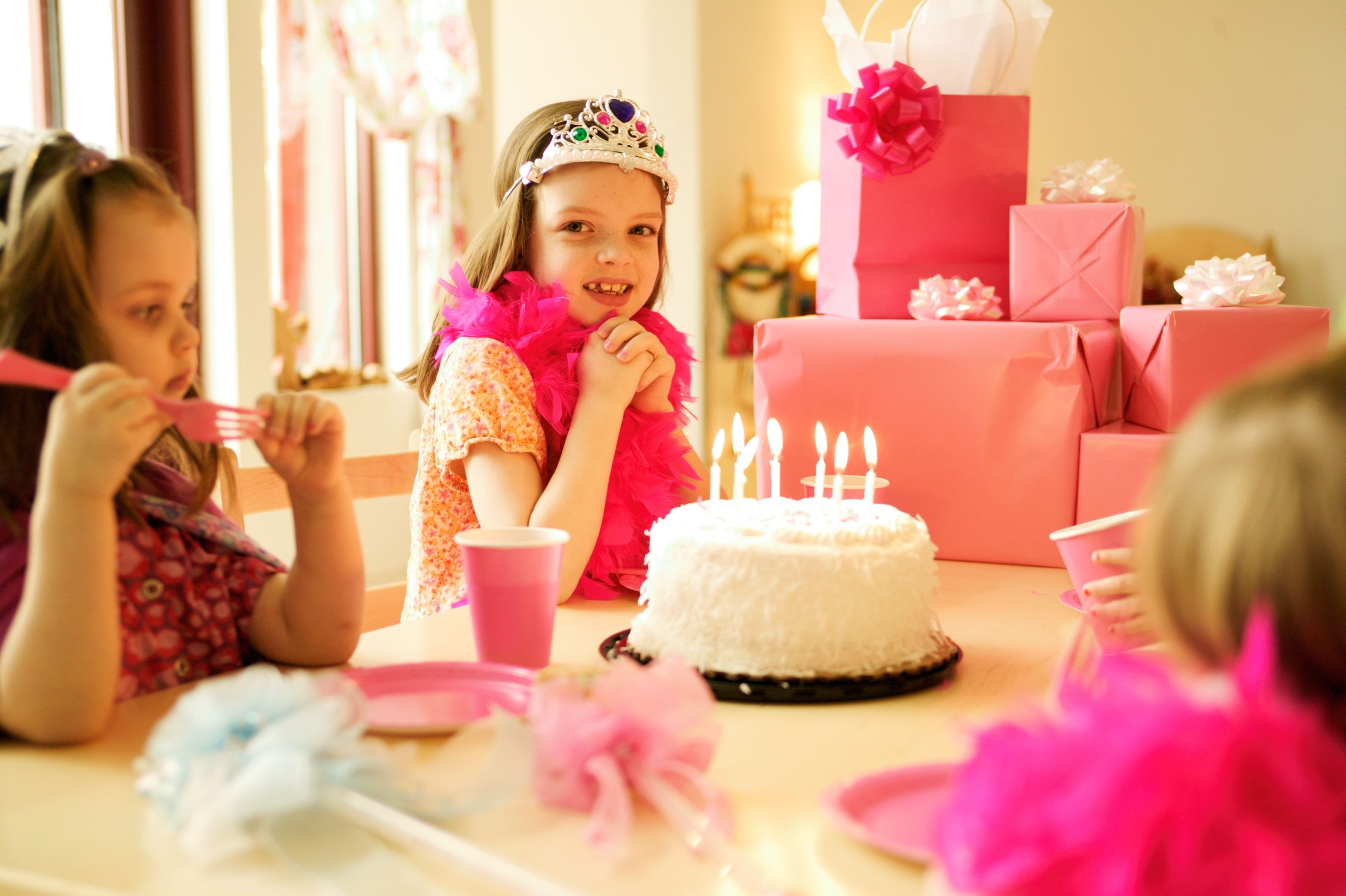 Birthday Party Ideas For 7 Year Old Girls With Pictures