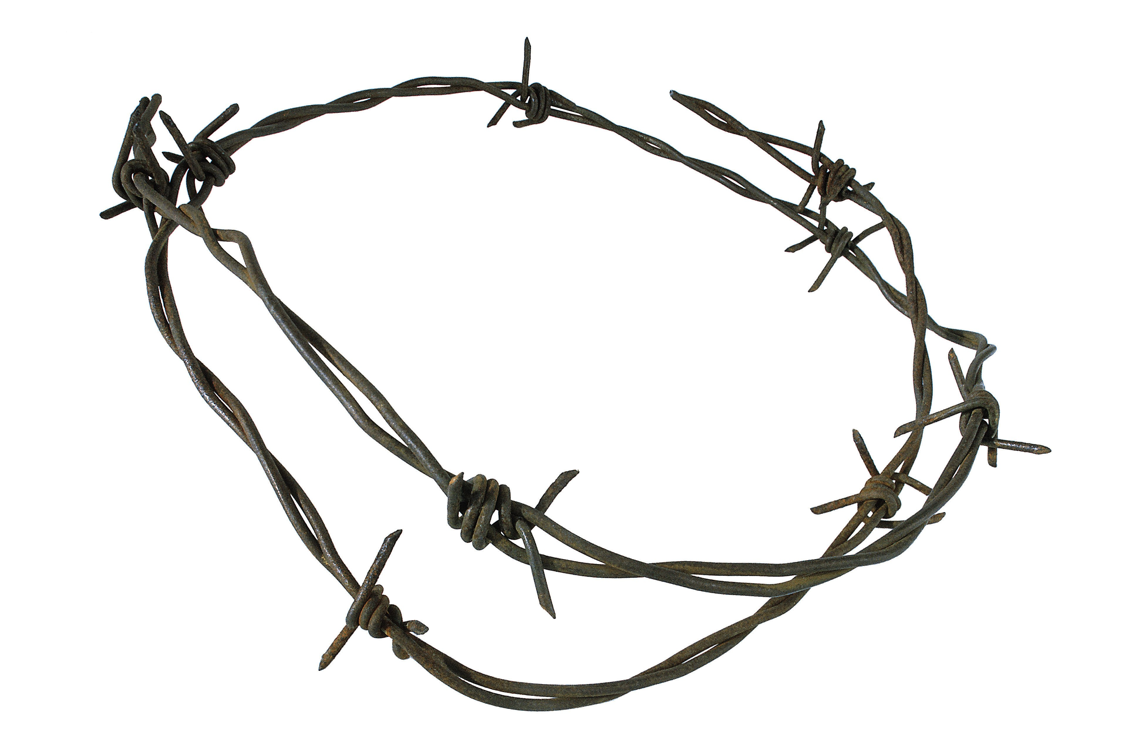 How To Make Barbed Wire Art