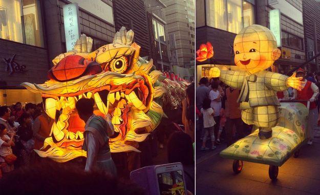 Lotus Lantern Festival In Seoul, Korea
